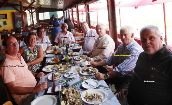 Almoço no Restaurante Miramar -