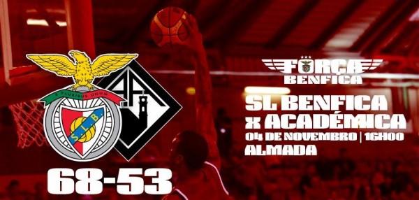 O Benfica conquistou a Supertaça em basquetebol!