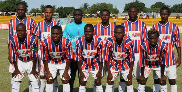 MAXAQUENE – Campeão nacional de futebol de Moçambique 2012