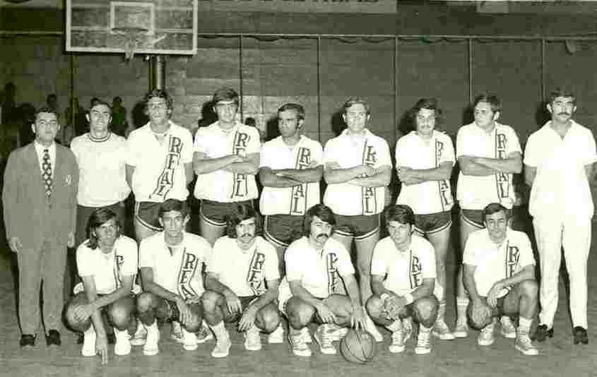 Basquetebol - Apresentação da primeira equipa de seniores da Real Sociedade de L. Marques