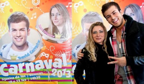 Reis do Carnaval da Figueira da Foz/Buarcos 2013 - David Carreira e Ana Oliveira.