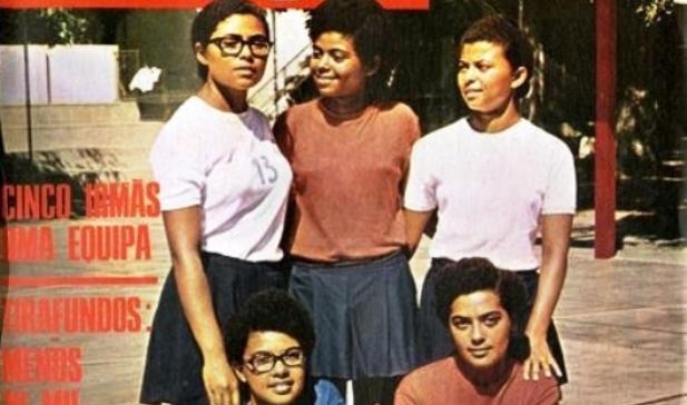 ADIVINHA QUEM SÃO! – Cinco irmãs uma equipa!