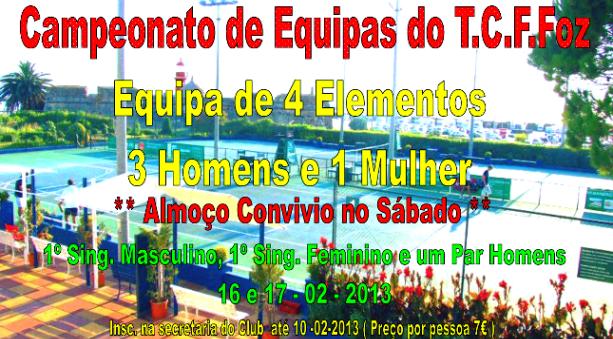 Torneio social de equipas do Tennis Club da Figueira da Foz