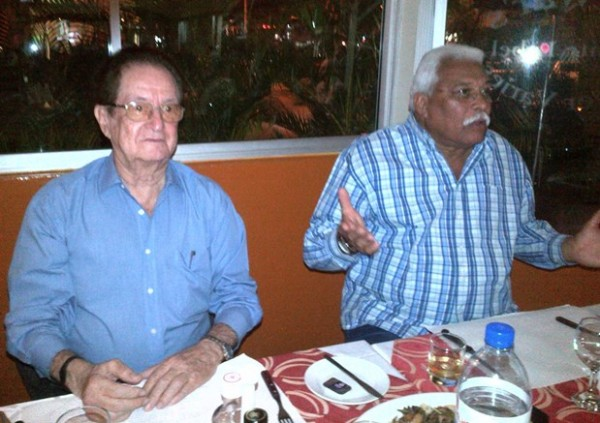 Helder Silva e Isac Narcy