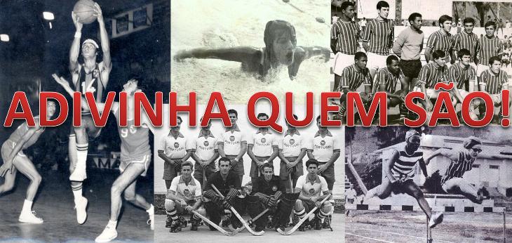 ADIVINHA QUEM SÃO! - Derby no basquetebol da capital...