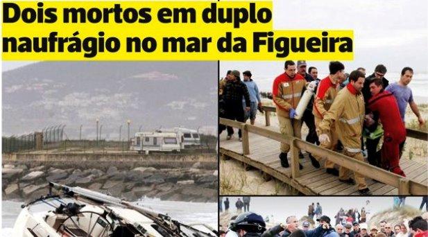 Dia trágico na Praia do Cabedelo - Figueira da Foz
