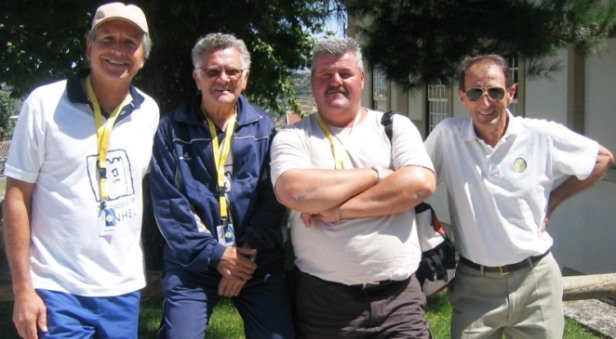 ADIVINHA QUEM SÃO! – Quatro veteranos desportistas unidos por uma modalidade...!