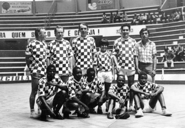 Equipa da RM - Basquetebol - 1975