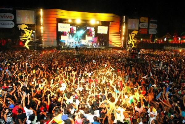 Festival de Verão Salvador 2007 Na segunda noite do festival, apresentação da cantora Ivete Sangalo. Foto - Valter Pontes/Coperphoto