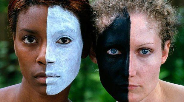 A cor da pele! -