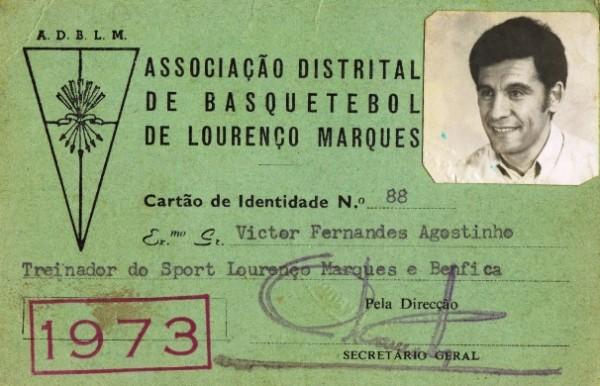 va82- Cartão Treinador Benfica