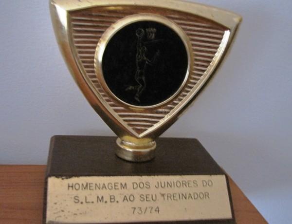 va83-Troféu Treinador Benfica juniores 1973-74
