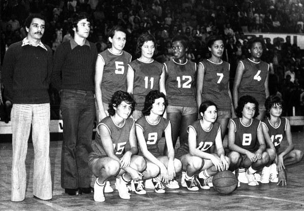 Selecção Feminina de Maputo - 1975
