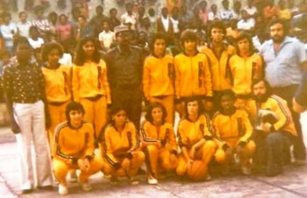 Selecção de Moçambique - 1975
