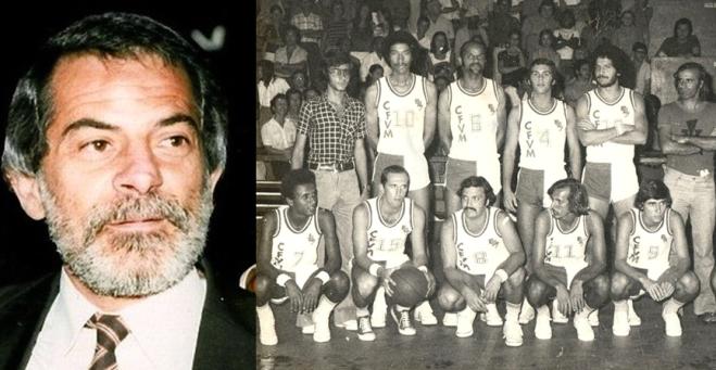 Ferroviário de L. Marques/Maputo - 1º Campeão Nacional de Moçambique em Basquetebol 1975