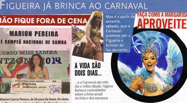 Figueira já brinca ao Carnaval... - Lérias & lábias de Paulo Craveiro