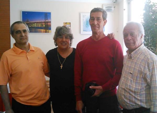 51-Joaquim Mendonça, Rogerio Carreira, Ze Julio e Arlindo Tavares