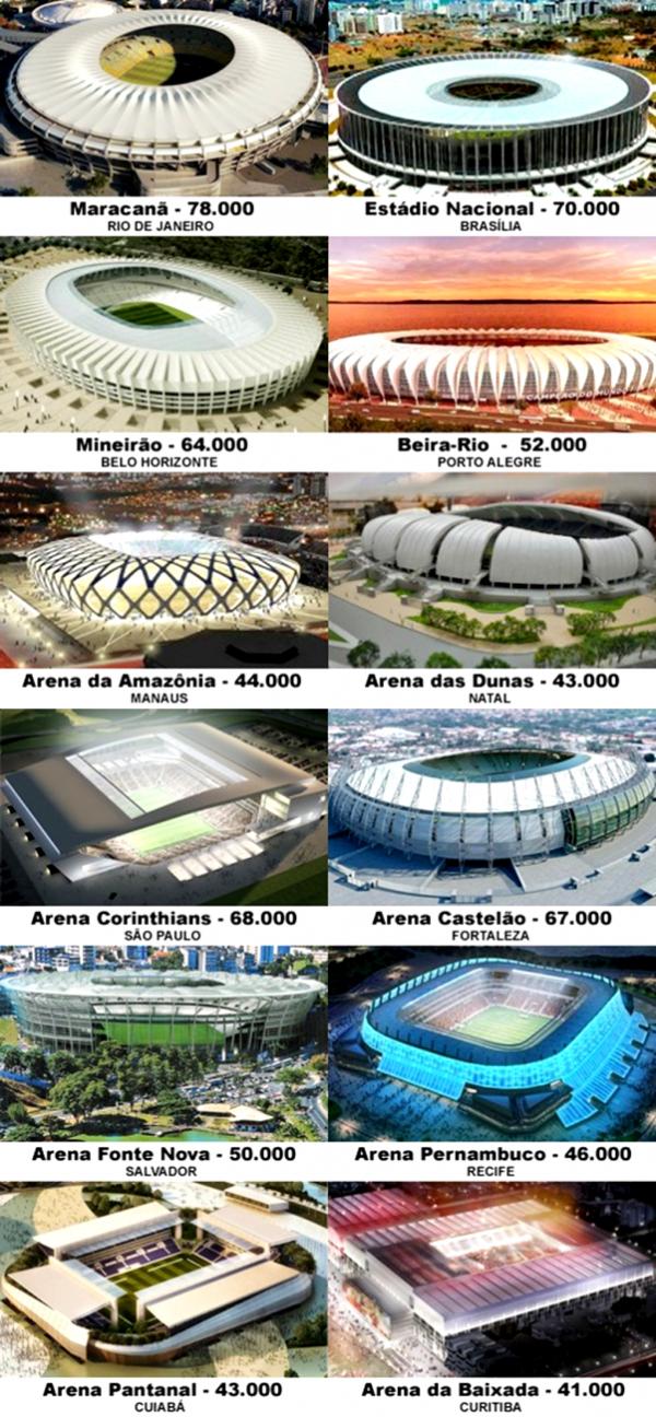 estadios 2014
