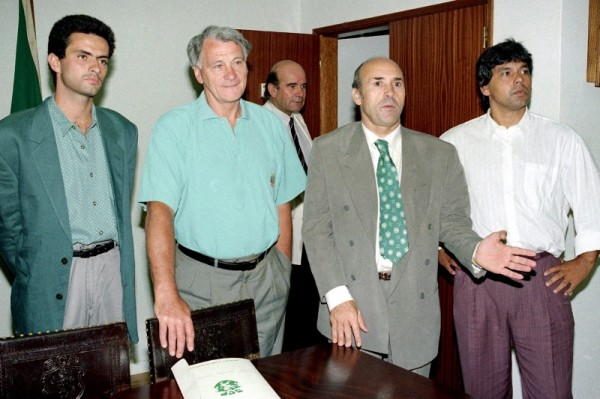 Equipa técnica do Sporting em 1992-1993