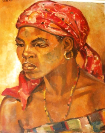 Pintor_José_Soares_mulher_de_moçambique