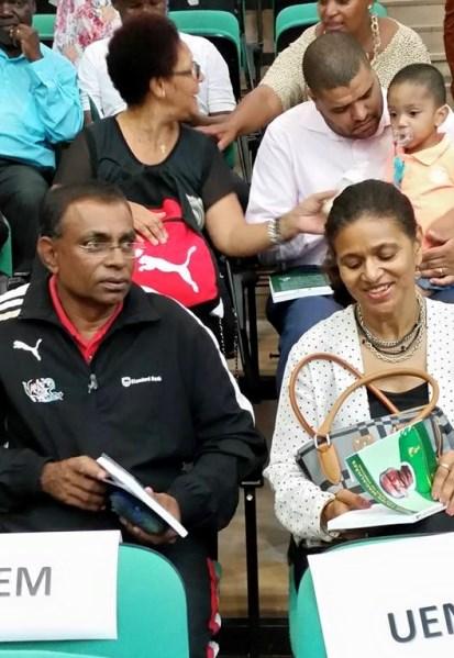 Voleibol e atletismo - Camilo Antão e Sarifa Magide