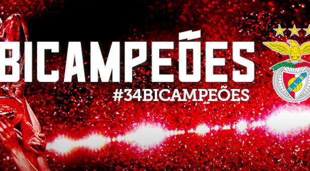 O Benfica é bi! -