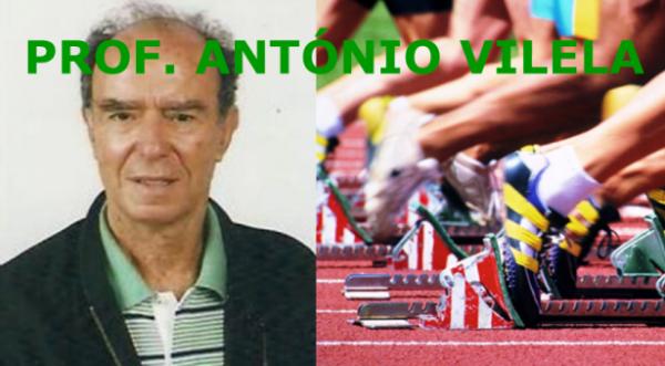 Atletismo: Prof. António Vilela -
