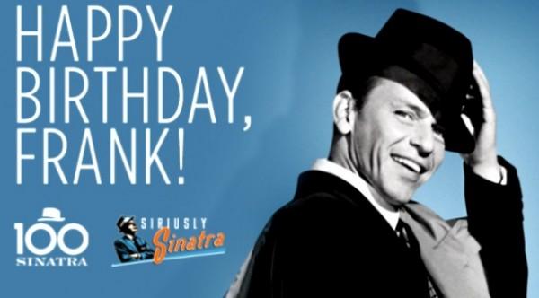 Parabéns Mr Frank, Frank Sinatra! -