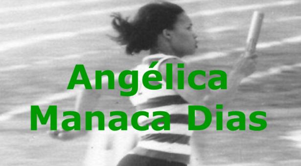 Atletismo: Angélica Manaca Dias -