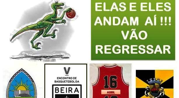 V Encontro Basquetebol da Beira - 16 de abril (sábado) nas Caldas da Rainha