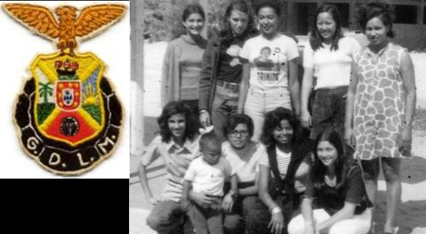Baú das Memórias - Equipa feminina de basquetebol do Desportivo de LM, na digressão a Inhambane (1974)