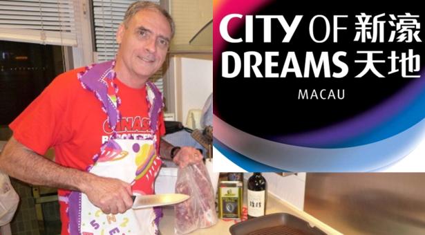Desporto, show de cozinha e espetáculo na City of Dreams - Macau...