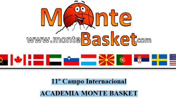 11º Campo de Especialização em Basquetebol - Academia Monte Basket