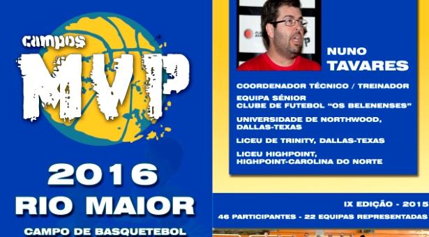 Basquetebol - Campos MVP 2016 Rio Maior