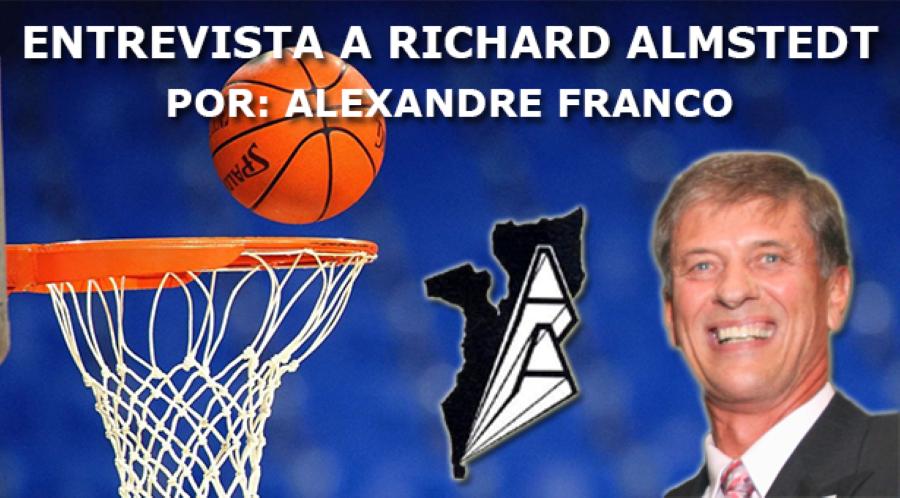 Richard Almstedt… Um Basquetebolista que os moçambicanos não esquecem!