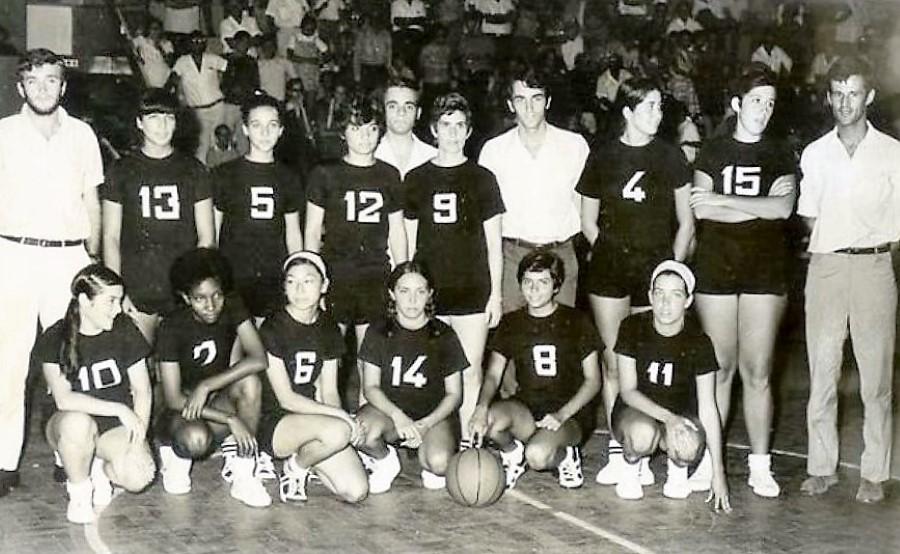 Baú das Memórias: Basquetebol feminino da época de 1969/70 da AAM em revista... (2ª parte)