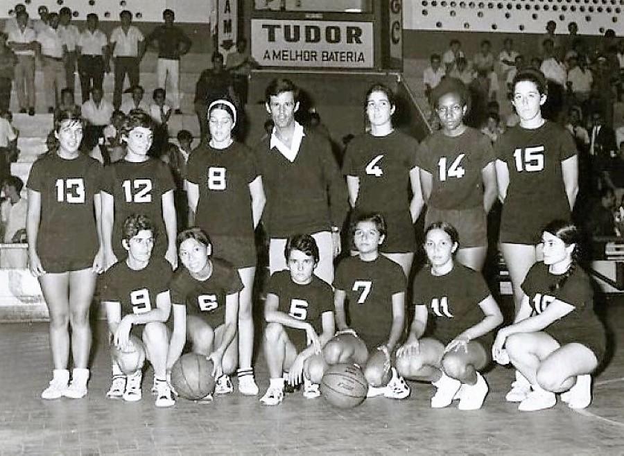 Baú das Memórias: Basquetebol feminino da época de 1969/70 da AAM em revista... (1ª parte)