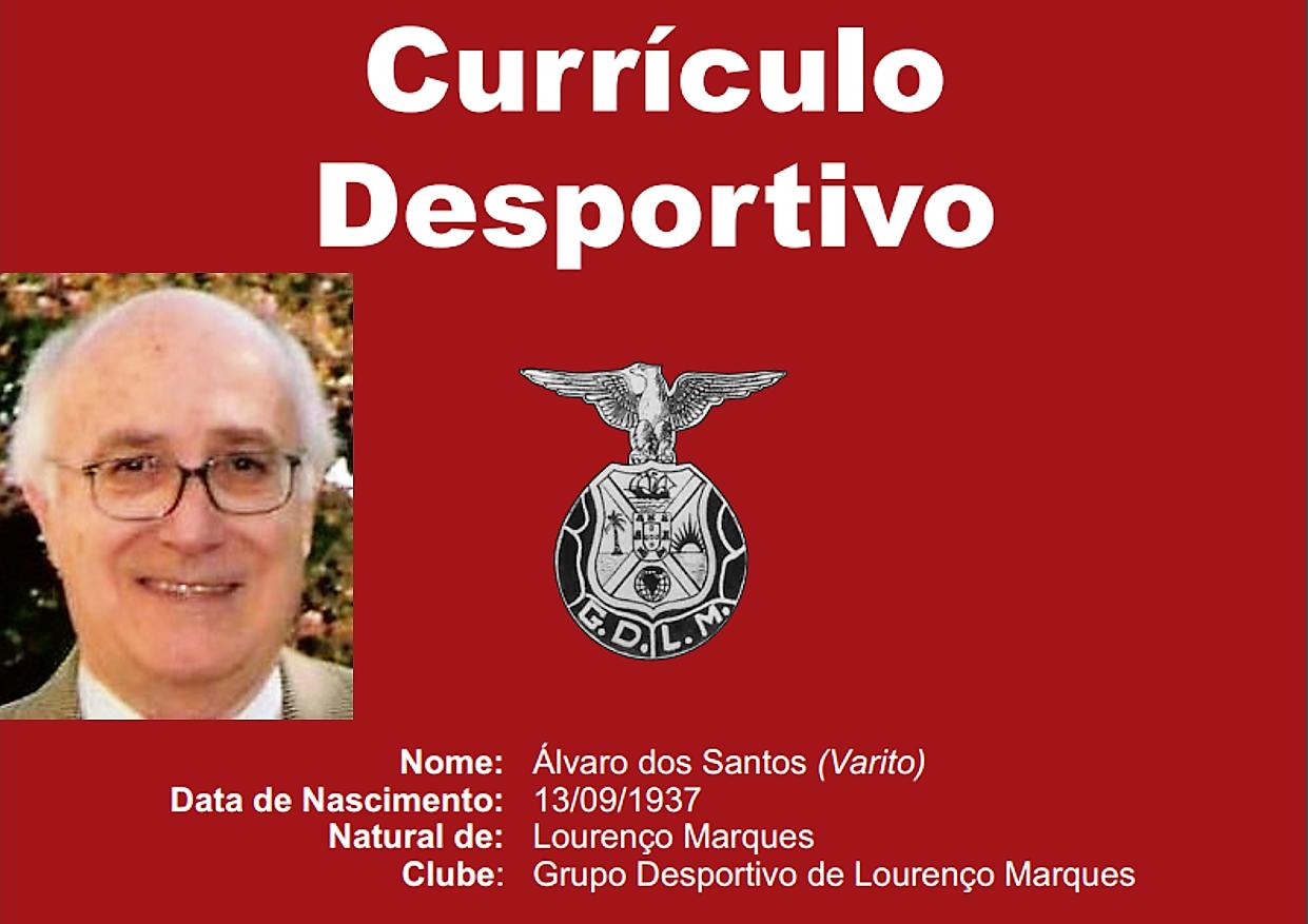Currículo Desportivo – Álvaro Santos