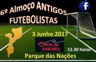6º Almoço dos Antigos Futebolistas de Moçambique - Sábado, 3 de Junho às 12H30