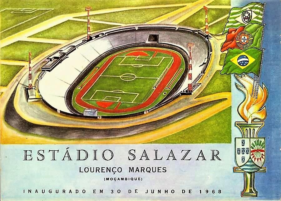 Inauguração do Estádio Salazar. Faz hoje 49 anos que isso aconteceu! -