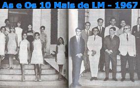 Baú das Memórias: As e Os 10 MAIS de Lourenço Marques do ano de 1967!