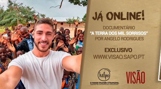 A TERRA DOS MIL SORRISOS - Documentário de Ângelo Rodrigues exclusivo da VISÃO