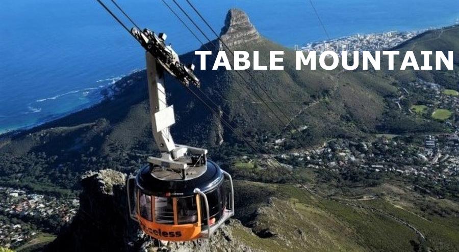 """Relatos de uma viagem por terras de África (18) - """"Visita à Table Mountain… principal atração da cidade do Cabo""""!"""