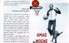 Estrelas de Moçambique (4) - Amad Mogne - Basquetebol