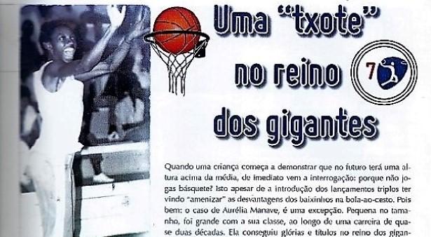 Estrelas de Moçambique (7) – Aurélia Manave – Basquetebol