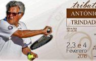 Torneio de tributo a António Trindade, uma referência incontornável no Ténis Português!