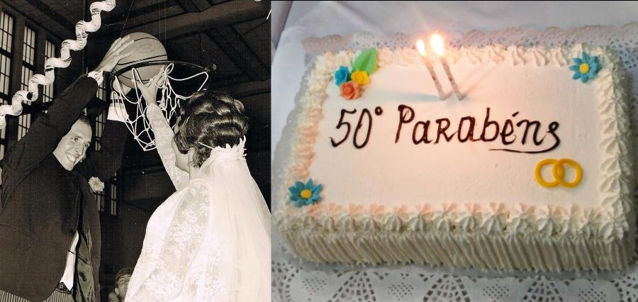 Palmira e Mário comemoram Bodas de Ouro!