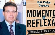 """Lançamento do livro """"Momentos de Reflexão – Gestão e Liderança""""! de José Carlos Sepodes"""