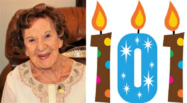 """""""Moçambicana"""" a residir em Portugal comemora hoje o seu 101º aniversário!!!"""