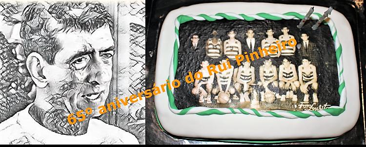 Jantar comemorativo do 65º aniversário do consagrado basquetebolista moçambicano - Rui Pinheiro